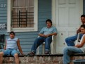 Honduran laborers rest after a day's work in New Orleans.