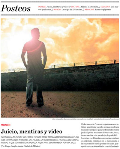 Presunto Culpable: Juicio, mentiras y video