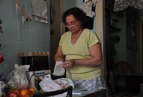 Urania Medal votó a Obama por su promesa de una reforma migratoria - AP Foto/Diego Graglia