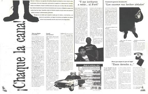 Los jóvenes y la policía, Posadas 1997
