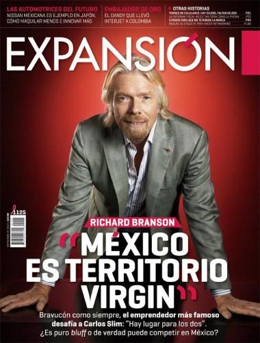 Richard Branson on Expansión